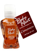 Body Heat Edible Warming Massage Lotion Cinnamon 1.25 Ounce