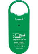 Goodhead Deep Throat To Go Oral Anesthetic Spray Mint .33...